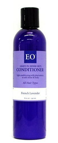 Buy EO Conditioner for All Hair Types, Leave-in or Rinse-out, French Lavender, 8-Ounce Bottles (Pack of 3) (EO Hair Conditioners, Conditioners)