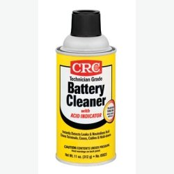 Crc Industries (Crc05023) Battery Cleaner With Acid Indicator, 11 Oz Can, 12 Per Pack