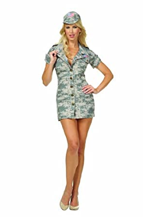 RG Costumes Desert Dolly, Tan Camouflage, Medium
