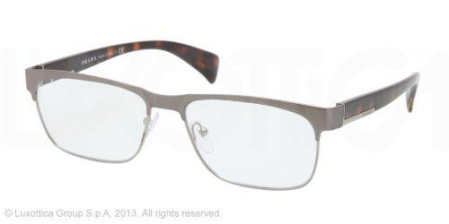 pradaPrada PR61PV Eyeglasses-LA8/1O1 Matte Gunmetal/Gunmetal-55mm