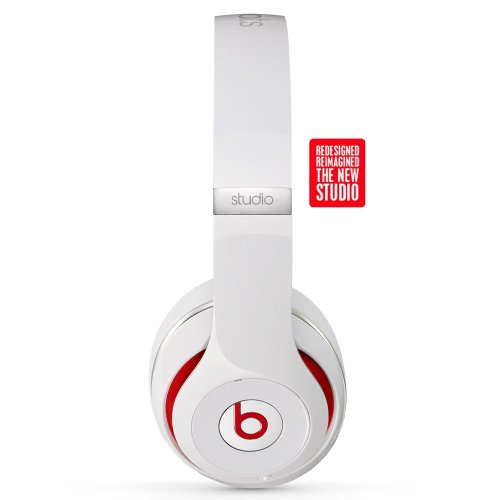 Beats By Dre Studio Headphones (White)
