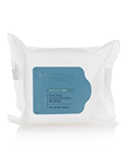 Formula Daily Skin Care Facial Cleansing Wipes