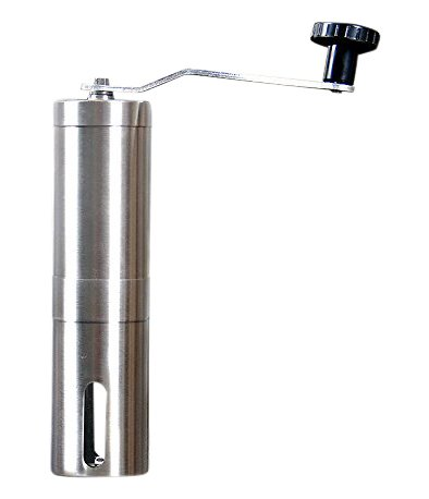 PuTwo Burr Mill Manual Hand Coffee Grinder, Portable, Stainless-Steel Perfect Coffee Bean Grinder for French Press, Espresso
