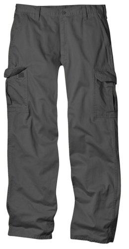 Dickies Men's Skinny Straight Fit Work Pant, Charcoal, 29x30 Picture