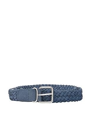 Cortefiel Cinturón Piel (Azul)