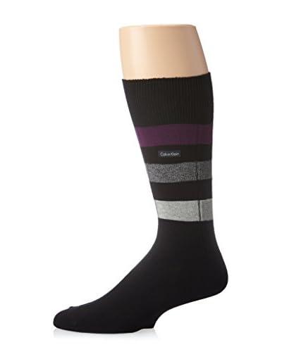 Calvin Klein Men's Reverse Channel Crew Sock