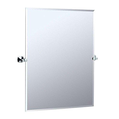 Gatco 4149S Jewel Rectangular Mirror, Chrome