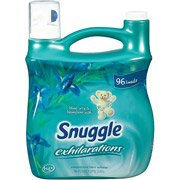 Snuggle Exhilarations Fabric Softener Liquid Blue Iris 96 Loads