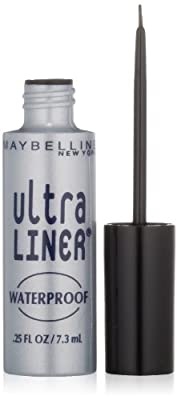 Maybelline New York Ultra Liner Waterproof Liquid Eyeliner, 0.25 Fluid Ounce