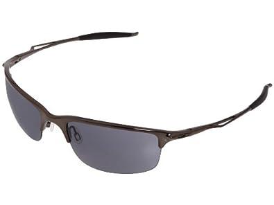 Amazon.com: Oakley Mens Half Wire 2.0 Sunglasses (Black ...