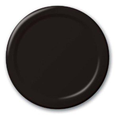 Black Dessert Plates 20ct