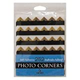 Self-adhesive Photo Corners Gold 252/Pk
