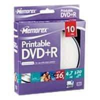 memorex-16x-printable-dvd-r-47gb-10-pack-cakebox-dvd-rw-virgenes-10-pack-cakebox