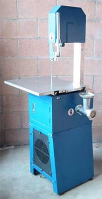 3/4hp Meat Butcher Band Saw w/ Grinder Sausage Stuffer