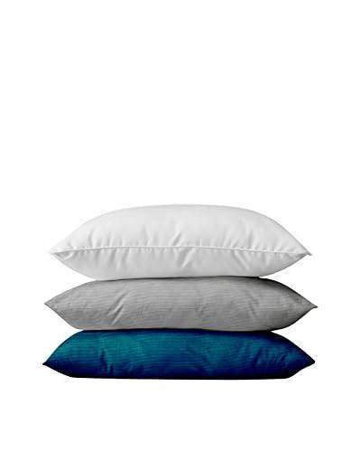 13CASA Set Cuscino 3 Pz. Bianco/Grigio/Blu