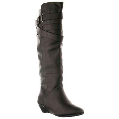 Madden Girl by Steve Madden Women's 'Zing' Knee High Boots, Black, Size 6.5