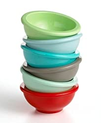Martha Stewart Collection Multi-Color Prep Bowls, Set of 6
