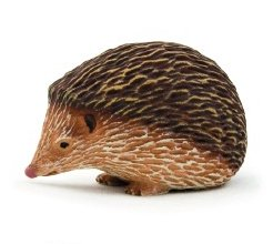 Mojo Fun 387035 Hedgehog - Realistic Forest / Countryside Wildlife Toy Replica