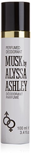 Alyssa Ashley Musk Deodorante Spray, 100 ml Donna