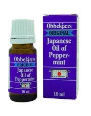 Obbekjaers Oil of Peppermint - Japanese Oil (10ml)