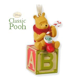 Baby's First Christmas Winnie the Pooh 2010 Hallmark Ornament - 1