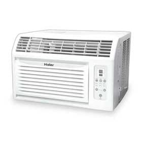 Haier CPN11XCJ 11,000 BTU Commercial Portable Air Conditioner is combines air conditioner, fan function with three speed setting and dehumidifier function,