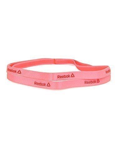 Reebok-Felpa da donna, colore fluorescente Z80522 PunPink fascia per capelli, taglia unica