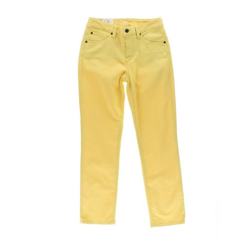 Miraclebody Sandra D. Skinny Ankle Jean Colored Sunflower 6