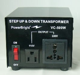 VC500 Step Down/Step Up Voltage Converter (up to 500W)