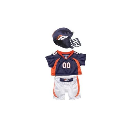 Build A Bear Workshop Denver Broncos Uniform 3 pc. Toys