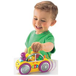 Barney Sing Along Music Buggy - 1