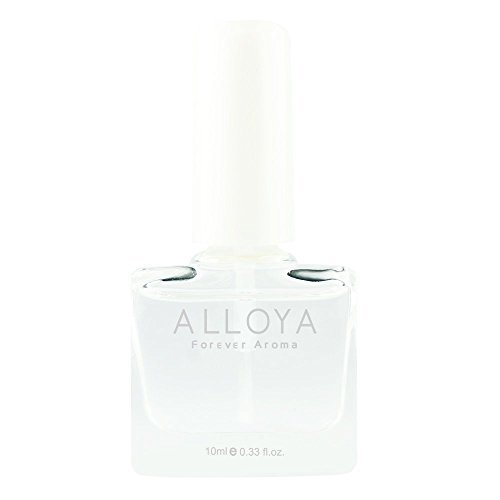 Alloya Natural Non Toxic Nail Polish, Water Based, 025 CLEAR TOP COAT (Aroma Nail Polish compare prices)