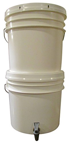 Emergency Water Filter System, Keep It Simple (KIS) Felt Pre-Filter, Ceramic Filtering, Spigot, Gama Seal Lid And 2 - 3.5 Gallon Buckets - Survival, Camping, Disaster & Earthquake Situations (Haiti Food compare prices)