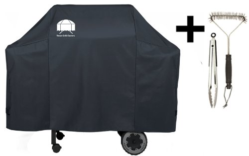 Texas Grill Covers 7573 Premium Cover for Weber Spirit 200/300 Gas Grills Including Brush and Tongs