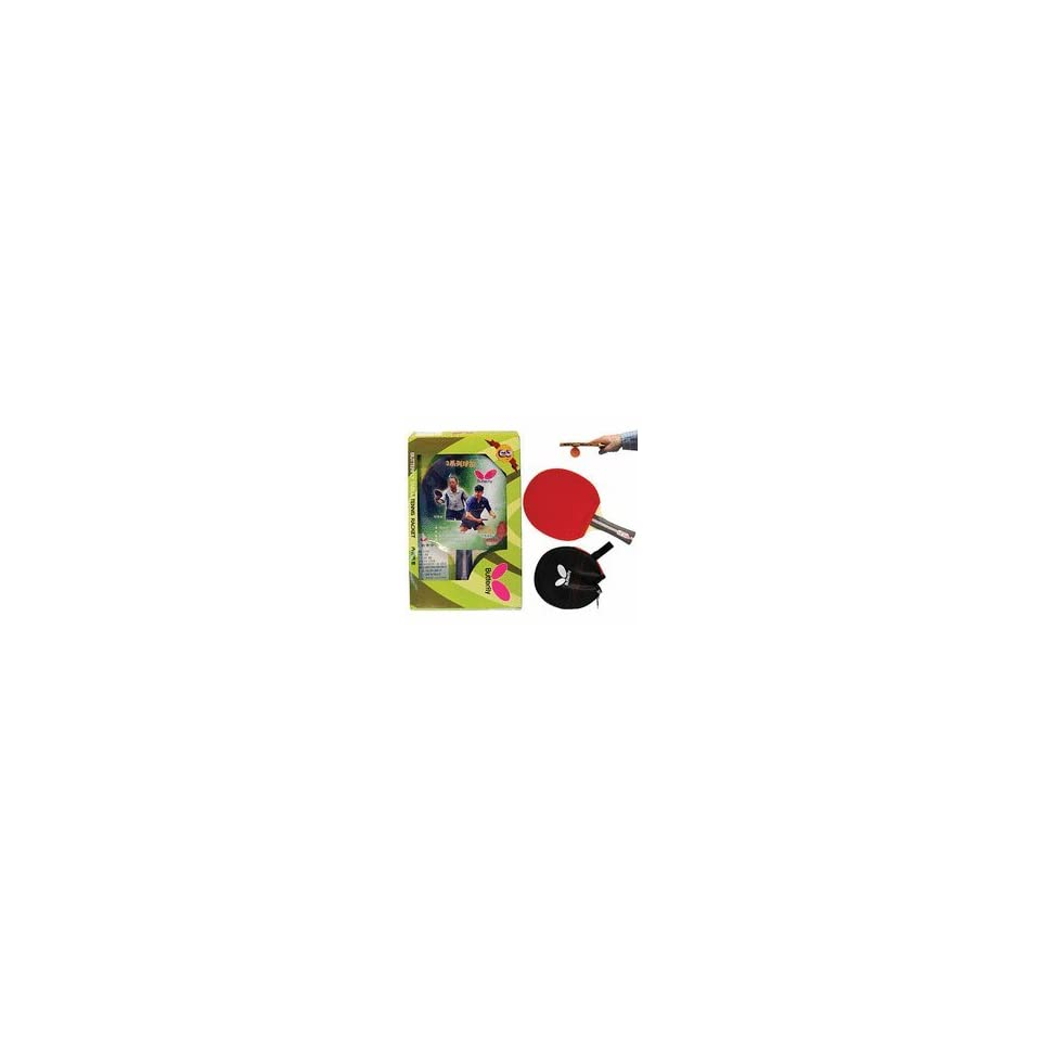 Butterfly 302 Shakehand Table Tennis Paddle