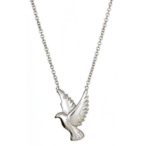 Dove Pendant in .925 Sterling Silver