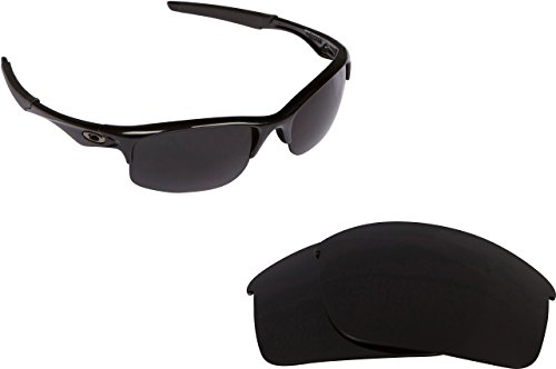 New SEEK OPTICS Replacement Lenses for Oakley BOTTLE ROCKET - Polarized Advanced Black