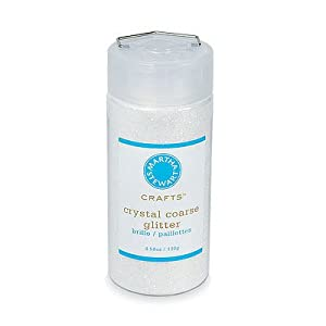 Martha Stewart Coarse Glitter, Crystal, 4.58 Ounces