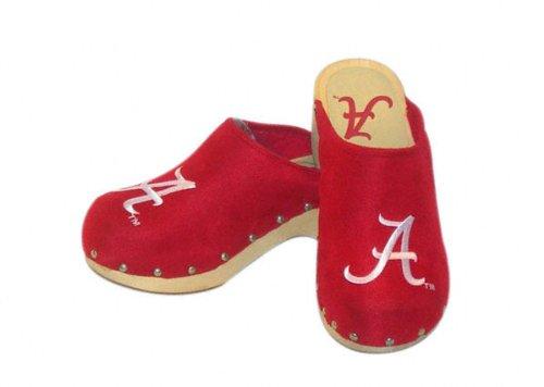 Image of Alabama Crimson Tide Red Clogs (B00138TYSC)