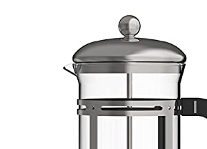 Coffee and Espresso Maker, ZYK French Press Coffee Maker, 16 Ounce 4 Cups (4 Ounce Each)
