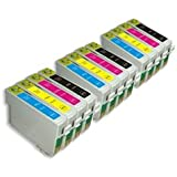 12 High Capacity Epson 18 XL Series Compatible Ink Cartridges Non Oem . 3 Full sets of T1816, including 3x T1811 Black, 3x T1812 Cyan, 3x T1813 Magenta and 3x T1814 Yellow by BVH Direct