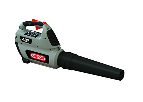 OREGON 40 Volt MAX* BL300-A6 Handheld Blower Kit with 4.0 Ah Battery Pack