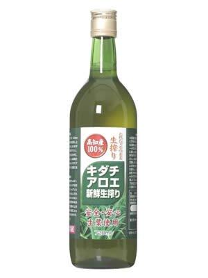 ユウキ キダチアロエ新鮮生搾り 720ml