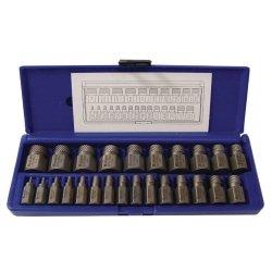 25 Piece Hex Head Multi-Spline Extractor Set
