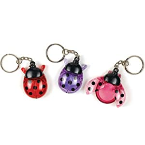 Click to buy Ladybug Lip Gloss Keychain Party Supplies (Colors May Vary)from Amazon!