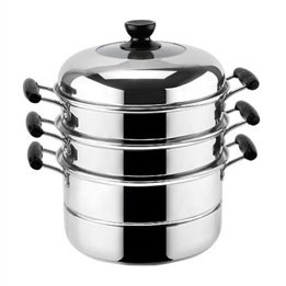 Stainless Steel Three Layers Saucepans
