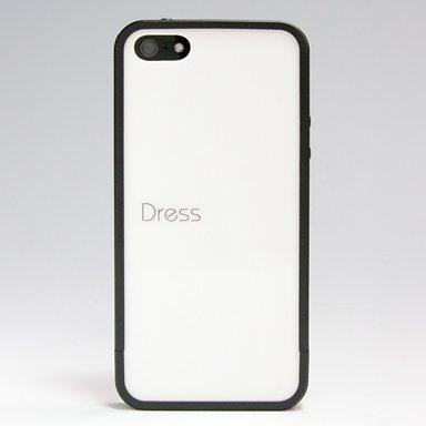 Dress Bumper Case iPhone SE/5s対応 ブラック DBC-001 黒