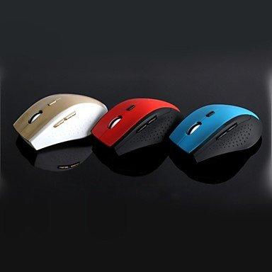 Mch-2.4Ghz Wireless Ergonomic Design Led Optical Usb Universal Mouse - 1600Dpi , Blue