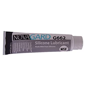 Novagard G662 General Purpose Silicone Grease-Like Compound, NSF 61 Certified, 5.3 oz Tube