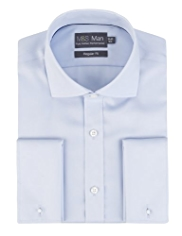 Pure Cotton Non-Iron Cutaway Collar Shirt
